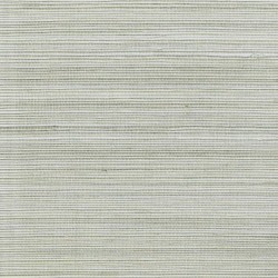 Natural Sisal Grasscloth Wallpaper on Silver Foil Background