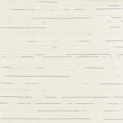 Natural Sisal Grasscloth Wallpaper with Silver Highlights