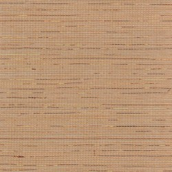 Natural Sisal Grasscloth Wallpaper with Copper Highlights