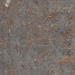 Natural Cork On Metallic Wallpaper
