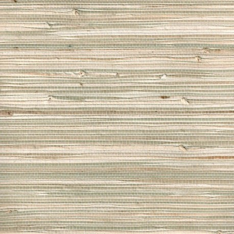 Natural Triangle Grasscloth Wallpaper