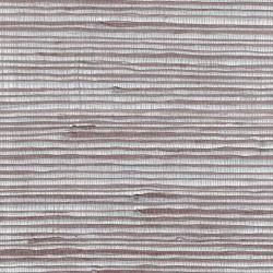 Jute Fiber Grasscloth Wallpaper on Silver Foil