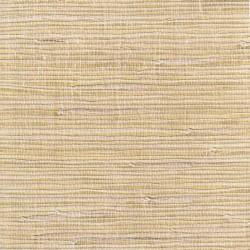 Jute Fiber Grasscloth Wallpaper on Gold Foil
