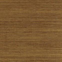Natural Jute Grasscloth Wallpaper on Gold Foil Background